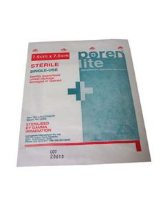 First Aid Non-Adherent Dressing 75 X 75Mm Ea