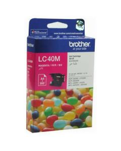 Inkjet Cartridge Brother Lc-40M Magenta Oem