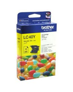 Inkjet Cartridge Brother Lc-40Y Yellow  Oem