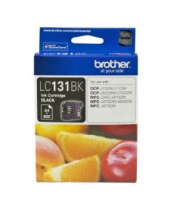 Inkjet Cartridge Brother Lc-131Bk Black Oem