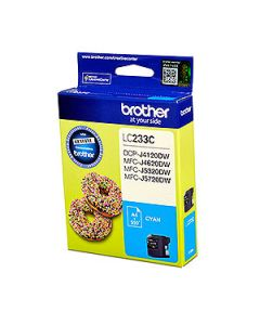 Inkjet Cartridge Brother Lc-233C Cyan Oem