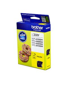 Inkjet Cartridge Brother Lc-233Y Yellow Oem