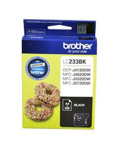 Inkjet Cartridge Brother Lc-233Bk Black Oem