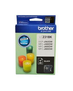 Inkjet Cartridge Brother Lc-231Bk Black Oem