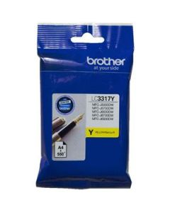 Inkjet Cartridge Brother Lc-3317Y Yellow Oem