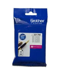 Inkjet Cartridge Brother Lc-3317M Magenta Oem