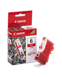 Inkjet Ink Tank Canon Bci-6R Red Oem