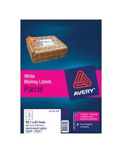 Labels Ink Jet Avery J8165 8 Per Sheet Bx50