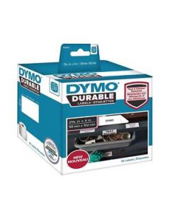 Labels Durable Dymo Lw 59Mm X 102Mm White Roll