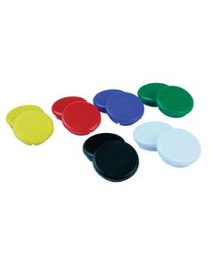Magnets Buttons 24Mm Red Card-10