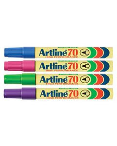 Marker Bullet Artline 70 Ass Brights 1.5Mm Box-12