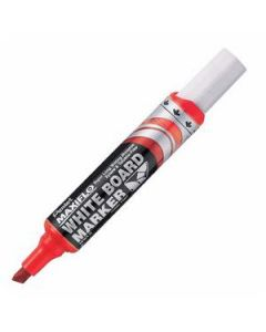 Marker Whiteboard Chisel Pentel Maxiflo 2.0Mm Red