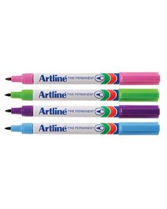 Marker Fine Artline 700 Asst 0.7Mm Brights Box12