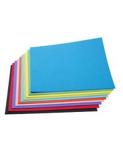 Art Board 200Gsm Jasart 510 X 640Mm L/Blue Pkt-20