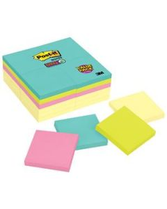 Post-It Notes S/Sticky 76X76Mm Miami Cabinet Pkt24