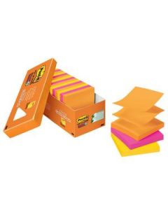 Post-It Notes Pop-Up 76X76Mm S/Sticky Rio Pkt18