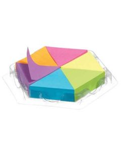 Sticky Notes Stickn Puzzle Block 43X50Mm Assorted