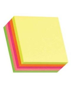 Sticky Notes Stickn Cube 51X51Mm Assorted