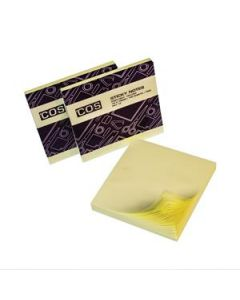 New Sticky Notes 76X76 Yellow Pkt-12