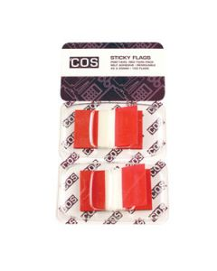 Sticky Flags Red Pkt-100
