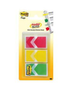 Post-It Flags Prioritization Arrows Pkt-60