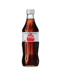 Drink Coca Cola Diet Coke Glass Bottle 330Ml Ctn24