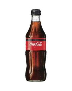 Drink Coca Cola No Sugar Glass Bottle 330Ml Ctn-24