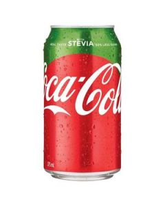 Drink Coca Cola Stevia Can 375Ml Ctn-24