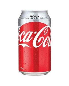 Drink Coca Cola Diet Coke Can 375Ml Ctn24