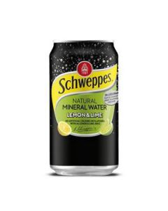 Drink Min Water Schweppes Lem/Lime Can 375Ml Ctn24