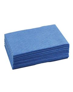 Cloth Wipers 50  X 30Cm Sheets Blue Pkt20