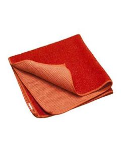 Cloth Microfibre Powercut Deep Cleaning Red Pkt50