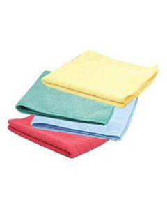 Cloth Microfibre Powercut Deep Cleaning Yel Pkt50